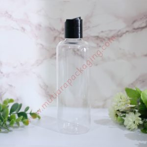 BOTOL DISKTOP 250ML NATURAL TUTUP NATURAL