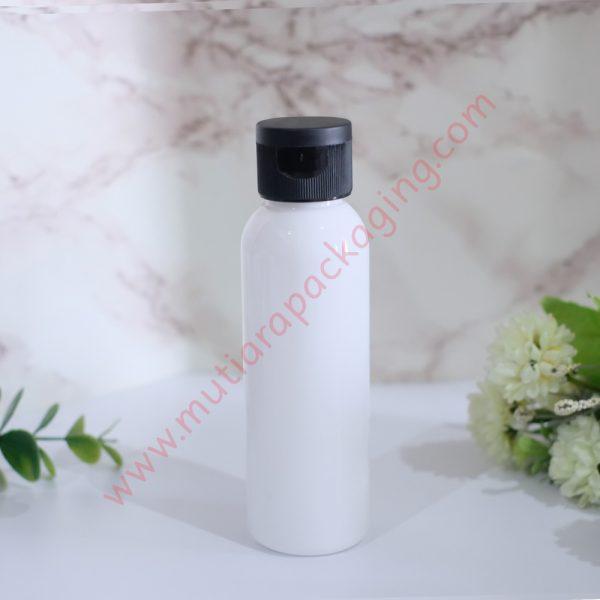 Botol Fliptop 100ml Dove tutup Hitam