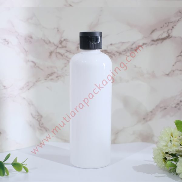 Botol Fliptop 250ml Dove tutup Hitam