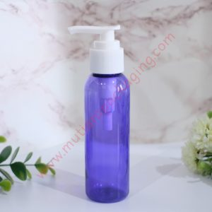 BOTOL PUMP 100ML PURPLE TUTUP HITAM