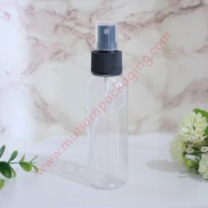 BOTOL SPRAY 100ML NATURAL TUTUP NATURAL