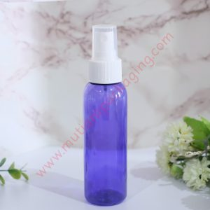 BOTOL SPRAY 100ML PURPLE TUTUP HITAM