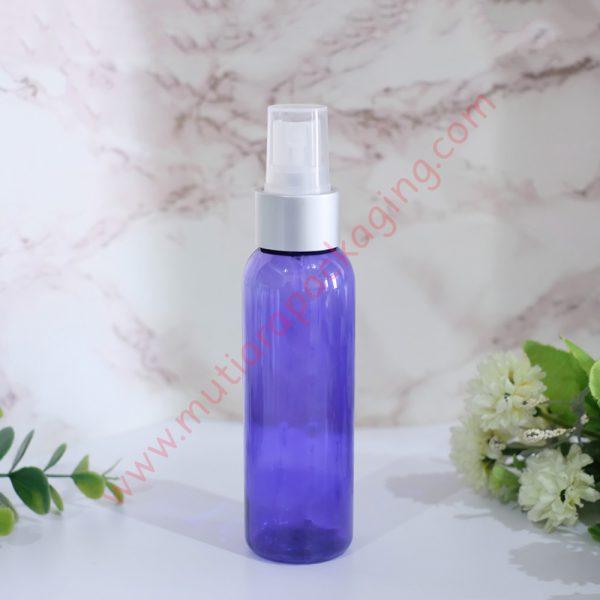 Botol Spray 100ml Purple tutup Silver Dove