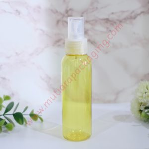 BOTOL SPRAY 100ML YELLOW TUTUP PUTIH
