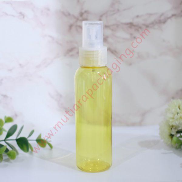 Botol Spray 100ml Yellow tutup Natural