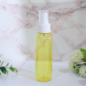 BOTOL SPRAY 100ML YELLOW TUTUP HITAM