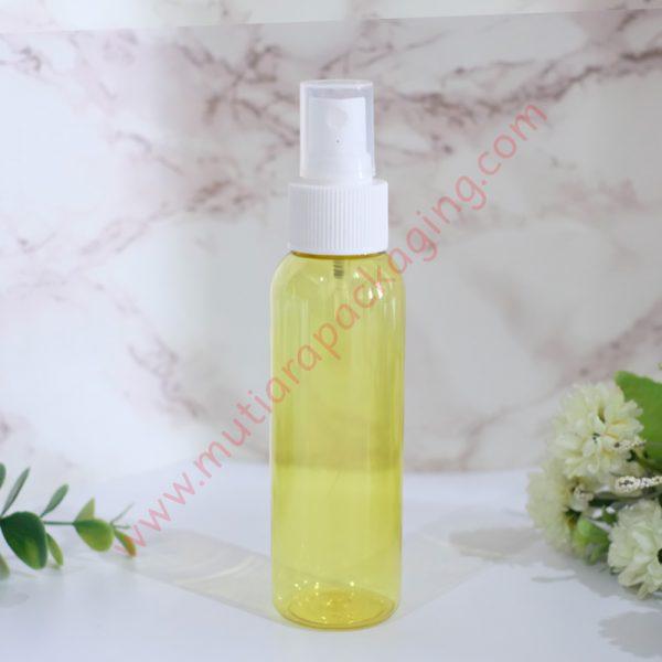 Botol Spray 100ml Yellow tutup Putih