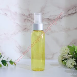 BOTOL SPRAY 100ML YELLOW TUTUP FULL GOLD