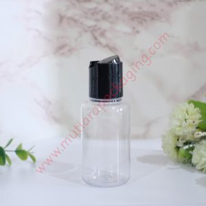 BOTOL TUBULAR DISKTOP 60ML DOVE TUTUP SILVER
