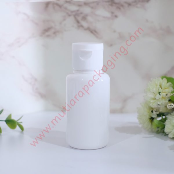 Botol tubular fliptop 60ml Dove tutup Dove