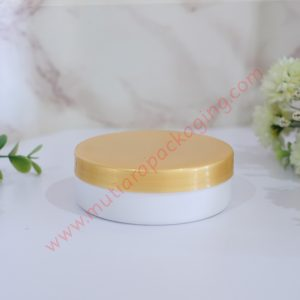 Pot Lulur 100gr Ceper Gold-Putih