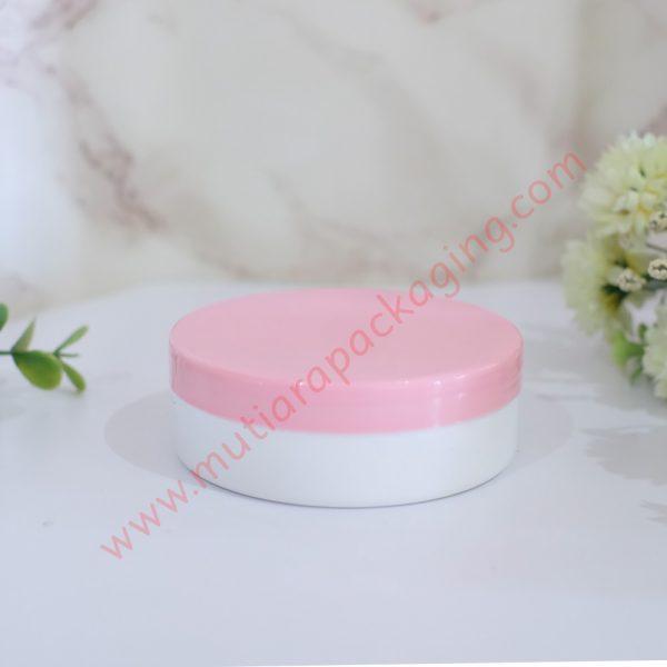 Pot Lulur 100gr Ceper Pink-Putih