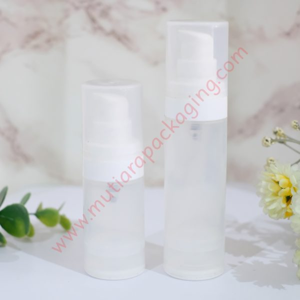 botol airless plastik 15ml dan 30ml