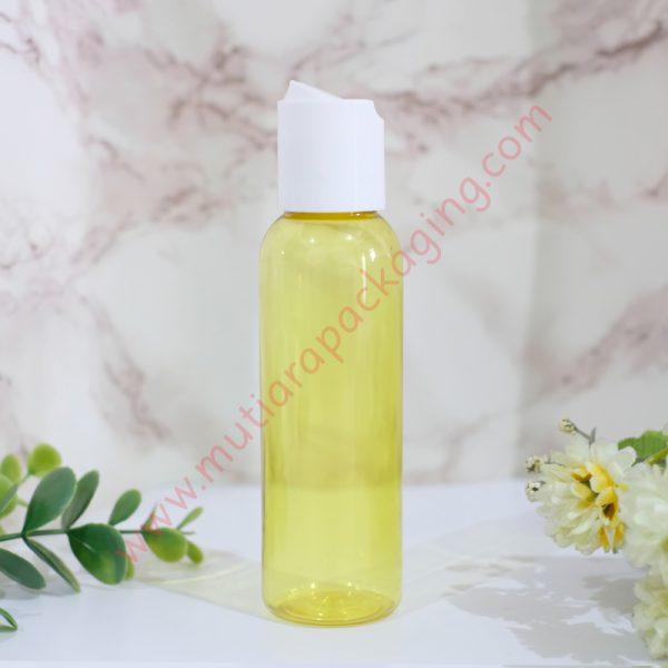 botol disktop 100ml kuning tutup putih