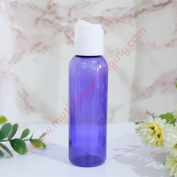 botol disktop 100ml violet tutup putih