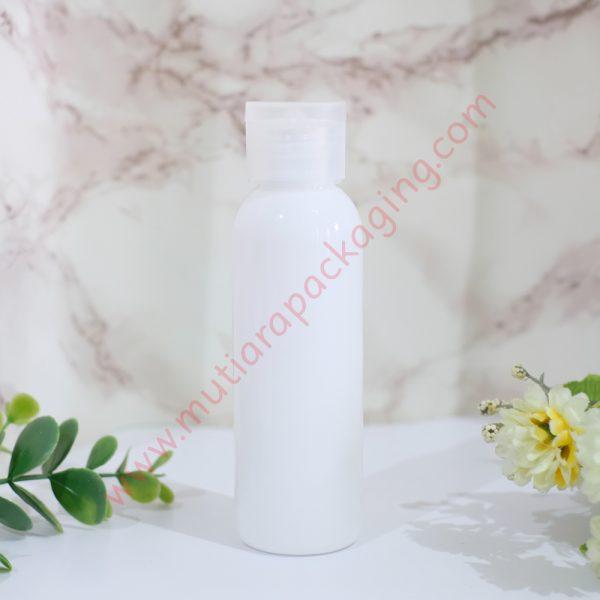 botol fliptop 100ml dove tutup natural