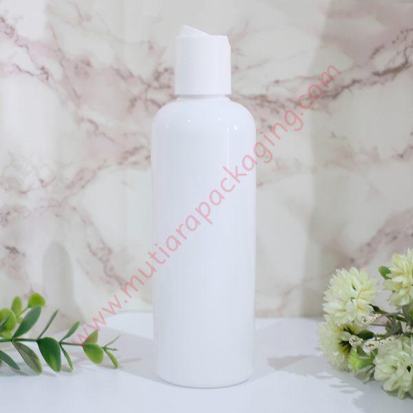 botol fliptop 250ml dove tutup putih