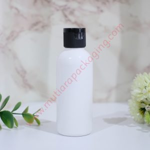 BOTOL FLIPTOP 60ML DOVE TUTUP NATURAL