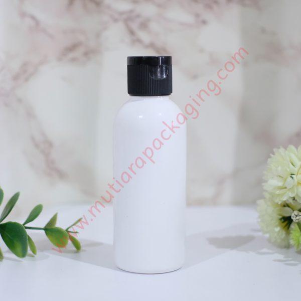 botol fliptop 60ml dove tutup hitam
