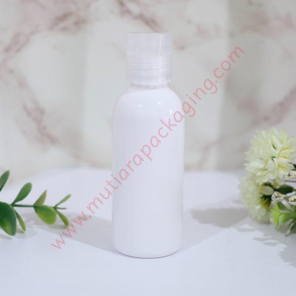 botol fliptop 60ml dove tutup natural