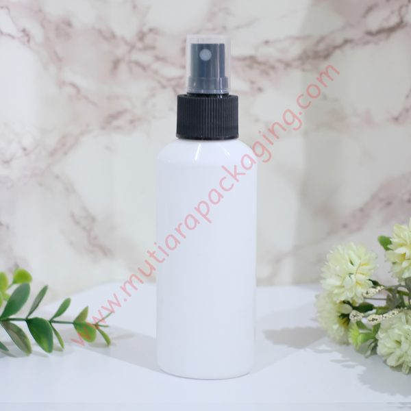 botol spray ovale 100ml dove tutup hitam