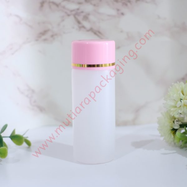 botol yadley 60ml natural tutup pink