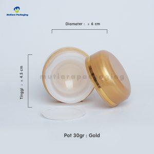 POT PP 30GR GOLD GOLD