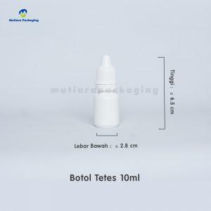 BOTOL TETES 10ML, 15 ML DAN 30ML