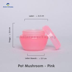 POT MUSHROOM 10GR PINK