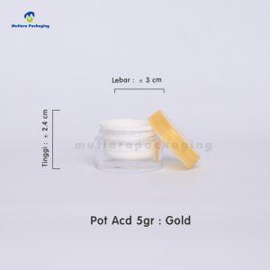 POT ACD 5GR GOLD